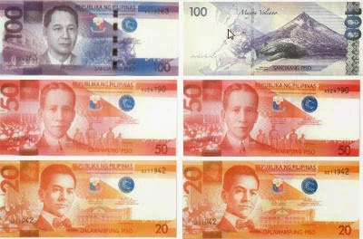 New Philippine Money-100-pesos