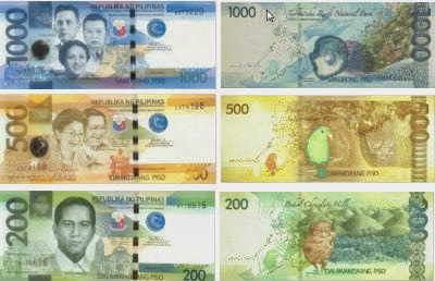 New Philippine Money-1000-pesos